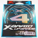 Шнур YGK X-Braid Upgrade X4 цв.white/pink 150м р-р 1,5, 0,205мм(Япония)